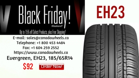 Evergreen Tires at Canada Wheels